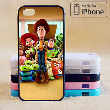 Toy Story Phone Case For iPhone 6 Plus For iPhone 6 For iPhone 5/5S For iPhone 4/4S For iPhone 5C iPhone X 8 8 Plus
