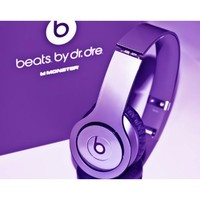 New! Metallic Purple Skins for Solo / Solo Hd Beats By Dr. Dre - (Headsets Not Included)