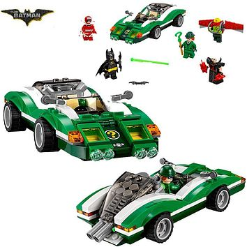 Batman Dark Knight gift Christmas Bela 10630 Batman Movie The Riddler Riddle Racer Man-Bat 70903 Building Block 282pcs Bricks Toy Compatible With Legoings Batman AT_71_6