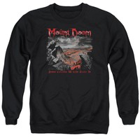 Lord Of The Rings - Power Corrupts Adult Crewneck Sweatshirt Officially Licensed Apparel