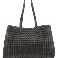 Banana Republic Factory Quilted Tote Size One Size - Black