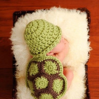 New 1pc Turtle Baby Boys Girls Photo Photography Prop Hat Clothes Costume Outfit