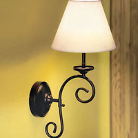 Remote Control Wall Lamp Bedroom Accent Hallway Living Room Battery Operated