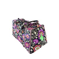 Vera Bradley Large Duffel in Suzani with Black Interior - Walmart.com