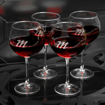 Red Wine Connoisseur Glasses- Set of 4