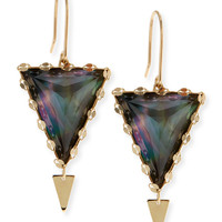 Small Mystiq Spike Earrings - Lana - Gold