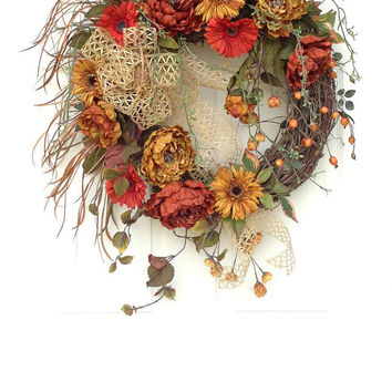 Tuscan Fall Wreath
