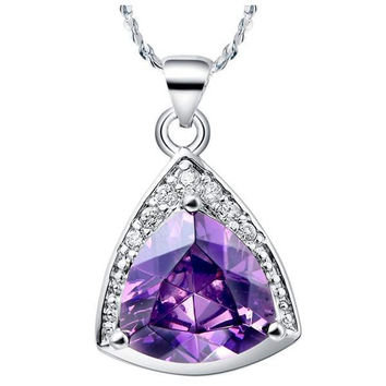Crystal Silver 925 Pendant = 5839602625