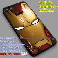 Mask | Iron Man | Movie iPhone 6s 6 6s+ 6plus Cases Samsung Galaxy s5 s6 Edge+ NOTE 5 4 3 #movie #disney #animated #marvel #comic #ironman dl2
