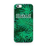 Cute Green Palm Fronds Case for iPhone-170928