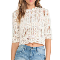 Dolce Vita Elizaveta Top in Cream