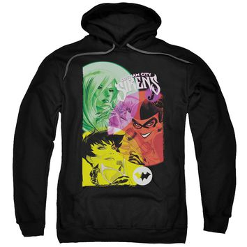 Batman - Gotham Sirens Adult Pull Over Hoodie