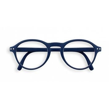 Izipizi - #F Navy Blue Reader Eyeglasses / +3.00 Lenses