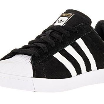 Adidas Superstar Vulc ADV Skate Shoes - Black/White/Gold