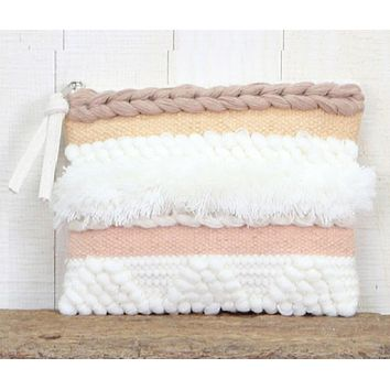 Hand Loomed Clutch by Lovestitch