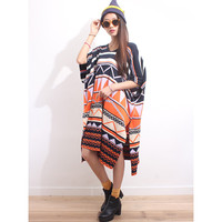 Totem Jacquard Oversized Knit Dress