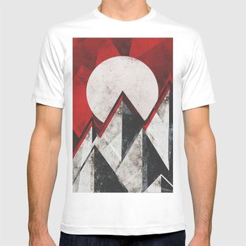 Mount kamikaze T-shirt by HappyMelvin