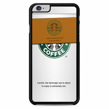 Starbucks Coffee Cup iPhone 6 Plus / 6s Plus Case