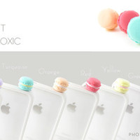 2pc Macaron for 5.99 Turquoise and Lt Green Ultralight Eco Friendly Anti Dust Plug Cover Stopper for iPhone Samsung HTC Smartphone Accessory
