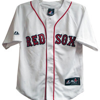 Boston Red Sox White Youth Jersey 6 Pack