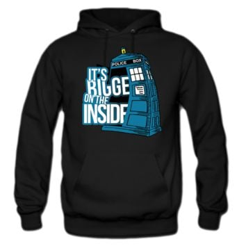 BIGGER ON THE INSIDE HOODIE