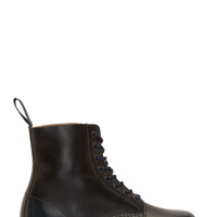 Dr. Martens Black And Navy Pascal 8-eye Boots