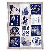Mickey Mouse Quilted Throw