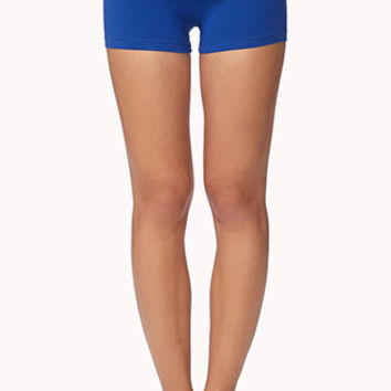 Foldover Yoga Shorts