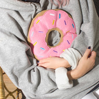 Huggable Heated Doughnut | FIREBOX\u00ae