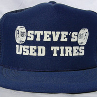 Vintage Snap Back  Trucker Hat - Steve's Used Tires