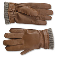 Dorset Goatskin-and-Cashmere Gloves