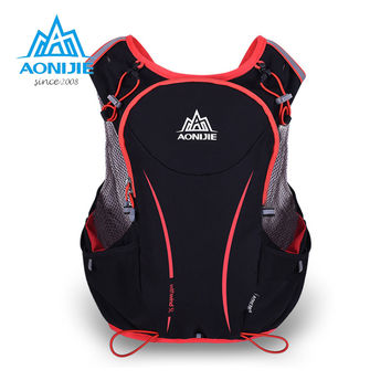 AONIJIE 5L Women/Men Marathon Hydration Vest Pack for 1.5L Water Bag Cycling Hiking Bag Outdoor Sport Running Backpack