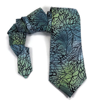 Dragonfly wing tie, Butterfly Wing tie, Fairy wing necktie, gothic tie, stained glass tie, mens tie, insect tie, Entomology necktie