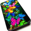 Butterfly Design 3D Hologram Case Cover for iPhone 4 / 4S