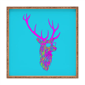 Robert Farkas Party Deer Square Tray