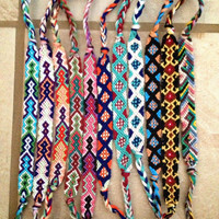 Friendship bracelet by KaiwahineMaui on Etsy