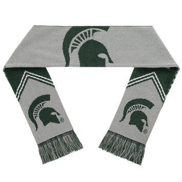 Michigan State Spartans Scarf - Reversible Stripe - 2016