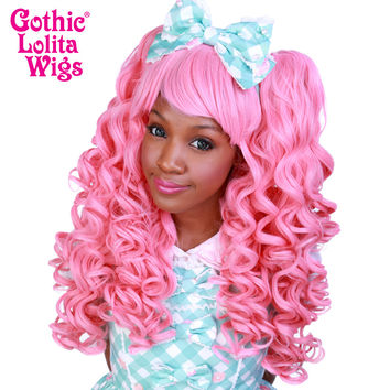 Gothic Lolita Wigs®  Baby Dollight™ Collection - Bubble Gum Pink - 00008