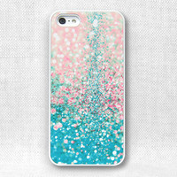 iPhone 5 Case, iPhone Case - Printed Glitter Image - 154