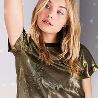 Silence + Noise Sparkle Pocket Tee - Urban Outfitters