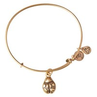 Alex and Ani Ladybug Charm Bangle - Russian Gold