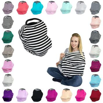 3 in 1 Infant Car Seat Cover 100% Cotton Stroller Accessories