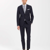 The Mayfair White Label Suit in Navy