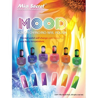 Mia Secret Mood Nail Lacquer - Changing Nail Polish 6pcs Set 6 Different Color [8096931399]