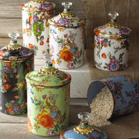 MacKenzie-Childs Flower Market Canisters