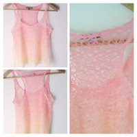 Pretty pink ombré tank🌺Host pick!!🌺