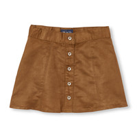 Girls Faux-Suede Skirt | The Children's Place
