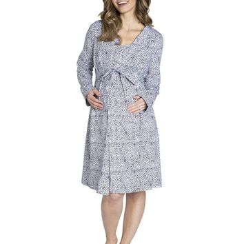 Harper Maternity, Delivery, & Nursing Robe