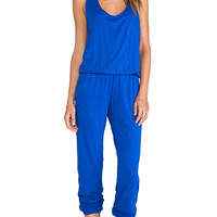 Indah Lagoon Jumpsuit in Royal