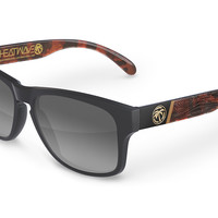 Cruiser Sunglasses: Wood Grain Customs